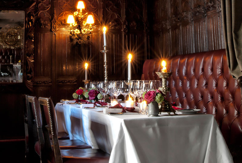 Private Dining in The Witchery